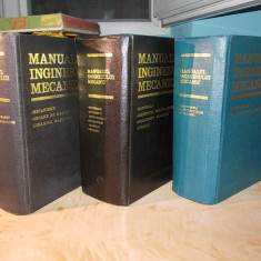 GH.BUZDUGAN - MANUALUL INGINERULUI MECANIC [ VOL.1 + VOL.2 + VOL.3 ] - 1972-1976 - Carti Mecanica