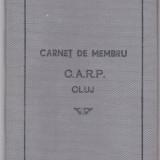 Carnet de Membru, Casa de ajutor reciproc a Pensionarilor Cluj - Pasaport/Document