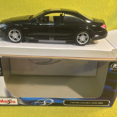 Maisto Special Edition 1:24 Mercedes-Benz CL63 AMG - Macheta auto