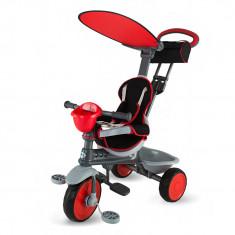 Tricicleta DhsBaby Enjoy Plus rosu - Tricicleta copii
