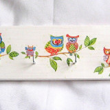 Cuier lemn decorata - 27152