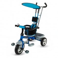 Tricicleta DhsBaby Scooter Plus albastru - Tricicleta copii DHS Baby, Unisex, Bleumarin