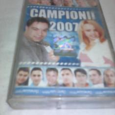 CASETA AUDIO MANELE CAMPIONII 2007 ORIGINALA - Muzica Lautareasca, Casete audio
