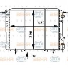 Radiator, racire motor RENAULT 19 B C53 PRODUCATOR HELLA 8MK 376 716-191