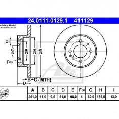 Disc frana FIAT STRADA I 138A PRODUCATOR ATE 24.0111-0129.1 - Discuri frana
