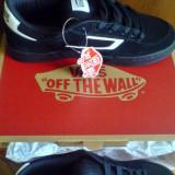 Adidasi Vans Churchill Skate piele naturala 42, 43 -produs original- IN STOC - Adidasi barbati Vans, Culoare: Negru