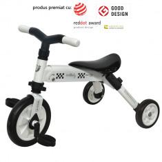 Tricicleta pliabila DhsBaby B-Trike alb - Tricicleta copii