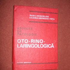 Radu Anghelide - Aspecte de patologie ORL - Carte ORL