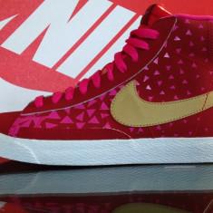 Bascheti originali NIKE BLAZER - Adidasi dama Nike, Marime: 36, 37, 38, 36.5, 37.5, Culoare: Din imagine, Piele naturala