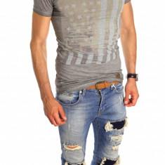 Tricou tip ZARA - tricou barbati - tricou slim fit - tricou fashion - 6531, Marime: XL, Culoare: Din imagine