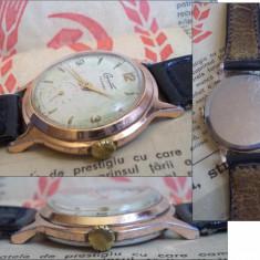 Ceas de mana - Ceas rusesc de colectie START cal. ZIM 2602, cadran crem, functional