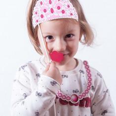 Accesorii de Prinţesă pentru Fotografii Haioase (pachet de 12) - Costum petrecere copii