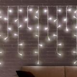 Lumini Albe de Crăciun Sloi de Gheaţă (200 LED) - Instalatie electrica Craciun