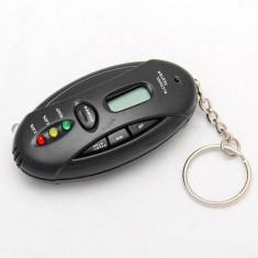 Tester digital de respiratie alcohol acool tester pentru condus stil breloc - AlcoolTest auto