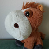 Jucarie plus cal, calut, Big Headz, personaj Duke the Horse desene animate 21cm - Jucarii plus