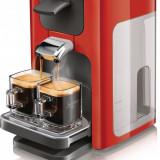 Aparat de cafea cu paduri Philips Senseo HD7863/80 Rosu - Negru
