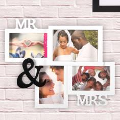Rama Foto Multiplă Mr & Mrs
