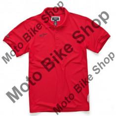 MBS Alpinestars Polo Shirt Vortex, Rot, M, P:16/032, Cod Produs: 100241525300MAU