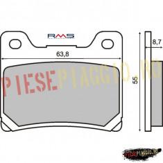 Placute frana Yamaha FZR 600 '90-'99 PP Cod Produs: 225100730RM - Piese electronice Moto