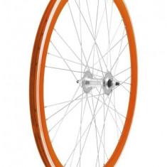 Set Roti Fixie700, culoare portocalie, spite 9x4 PB Cod Produs: 40706ASSKRM