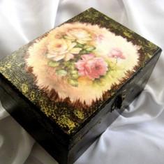 Cutie Bijuterii - Cufar/Cutie de lemn 14988
