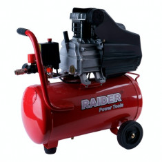 120103-Compresor de aer 24L x 1500 W cu piston Raider Power Tools - Compresor electric, Compresoare cu piston