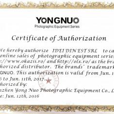 Flash / blitz Yongnuo YN 560 III compatibil YN560-TX - Blitz dedicat
