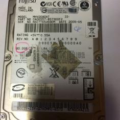 Suport laptop - Hard de laptop Fujitsu de 80 de GB -IDE - functional