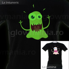 Tricou fosforescent Funny party