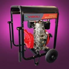 Motopompa Apa Diesel Visoli DHP40-II - 75M Verticala - Pompa gradina