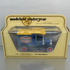 Ford Model T 1912 Custard Powder, Matchbox Yesteryear - Macheta auto