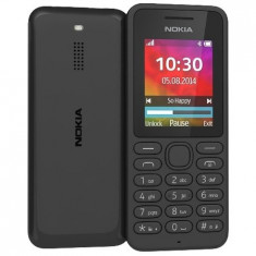 Telefon mobil Nokia 130 Single SIM, negru - Telefon Nokia