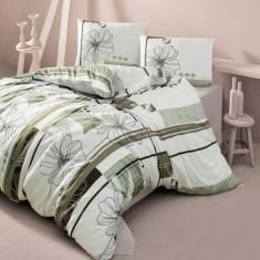 Lenjerie de pat din bumbac Valentini Bianco VKR10 Elif Maro