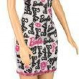 Papusa Barbie Print Dress