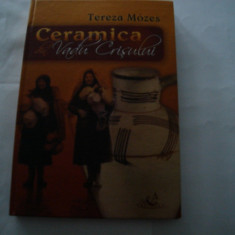 Ceramica din Vadu Crisului - Tereza Mozes (carte cu cd) - Carte Arta populara