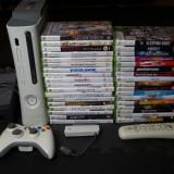 Consola Xbox 360 + Controler Wireless + 20GB HDD + Telecomanda + 35 Jocuri !