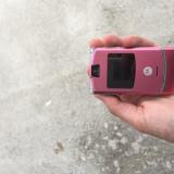 Motorola RAZR V3 - Telefon Motorola, Roz, Nu se aplica, Neblocat, Fara procesor