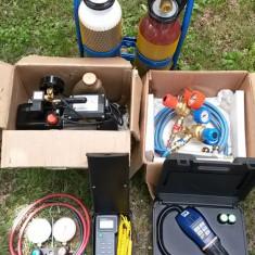 Kit mobil frigotehnist (sudura autogen, pompa vid, detector freon, termometru)