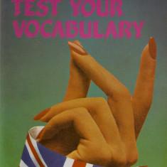 Mariusz Misztal - Test Your Vocabulary - 601557 - Ghid de conversatie teora