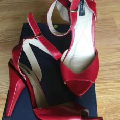 Pantofi Zara - Pantof dama Zara, Marime: 37, Culoare: Albastru