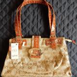 Geanta Giessi Leather Collection The Best for you; 35 x 22 x 13 cm; 8 compartim. - Geanta Dama, Culoare: Din imagine, Marime: Medie