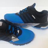 Adidasi Adidas marath0n albastru-negru model inedit 2016