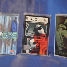 Colectie 3 Casete Audio RACLA. HIP-HOP Romanesc. De colectie! - Casetofon