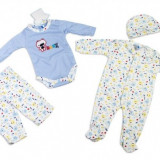 Set hainute bebe Ursuletul Max Carters 3 luni, Bleu