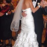 Rochie mireasa Mirandi, tip sirena, marimea 34 - Rochie de mireasa sirena