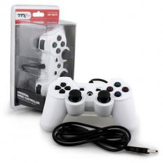 Controller Ps3 Wired Ttx Tech White - Consola PlayStation