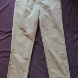 Pantaloni dama MARC O'POLO, mas. 36, Culoare: Bej, Lungi, Bumbac