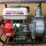 Motopompa Honda WB 20X, de 2 , debit 600 l/min, benzina / GPL, noua