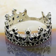 Inel din Argint 925, model Crown, cod 882 - Inel argint