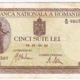 Bancnota 500 lei 20 IV 1942 (2)